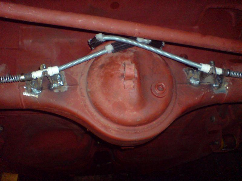 English Axle Handbrake Cables
