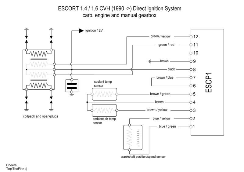 anyone running the ford esc system on thier zetecs?