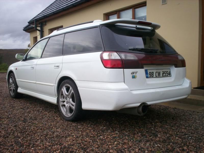 Subaru Legacy GT-B twin turbo manual estate car/wagon