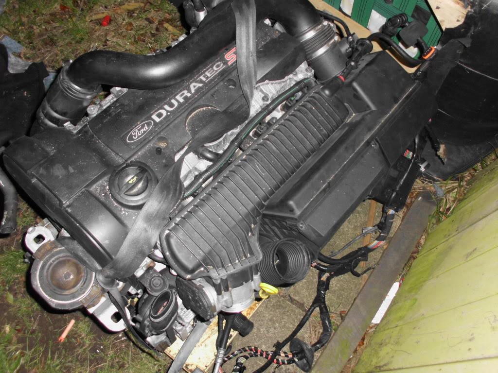 2009 Ford Focus 2 5 St3 Hyda Duratec Turbo Engine