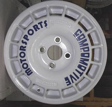 Toyo Proxes R888 >> Vendo Aros OZ Racing 15x7 de Rally .... simil Compomotive TH2