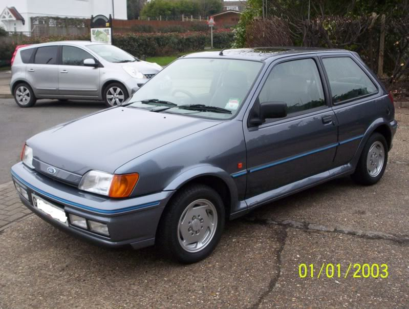 1990 Ford Fiesta RS Turbo related infomation ...