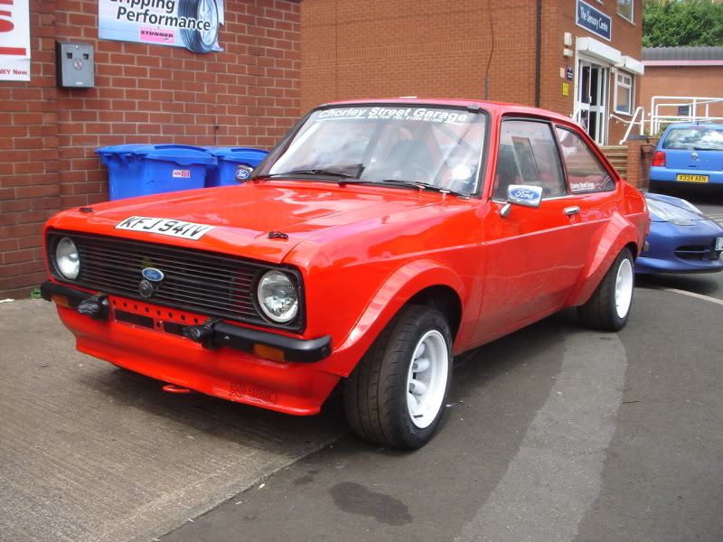 mk2 escort rally car FOR SALE £6000