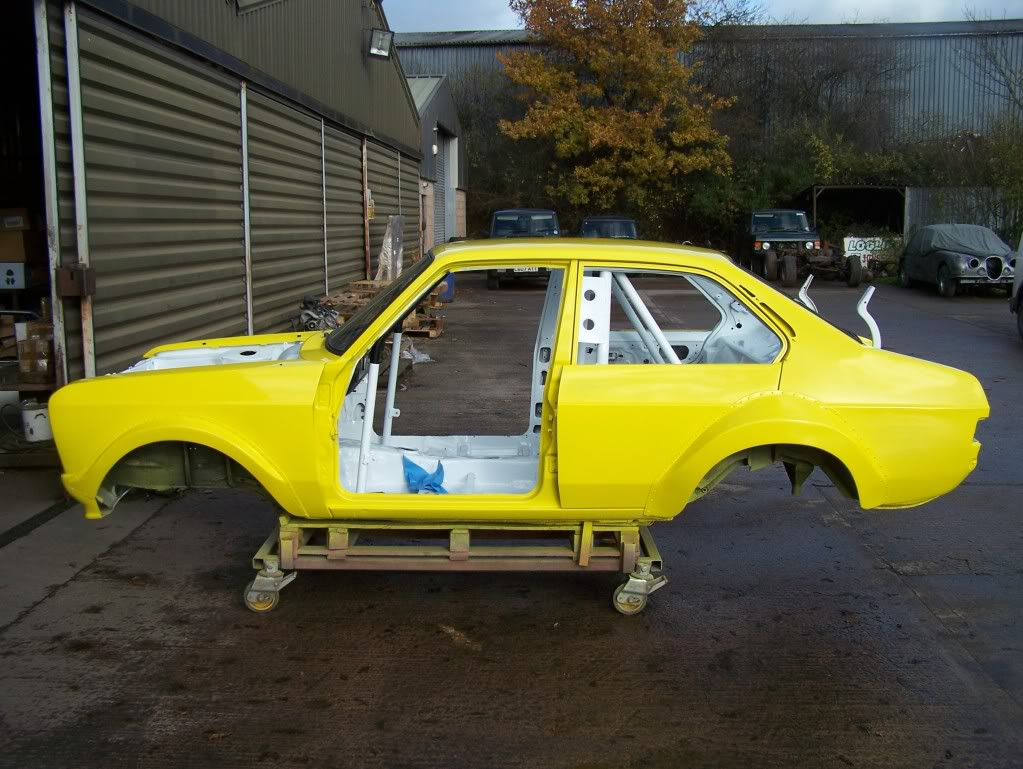 4 door Ford Escort MK2 rally car