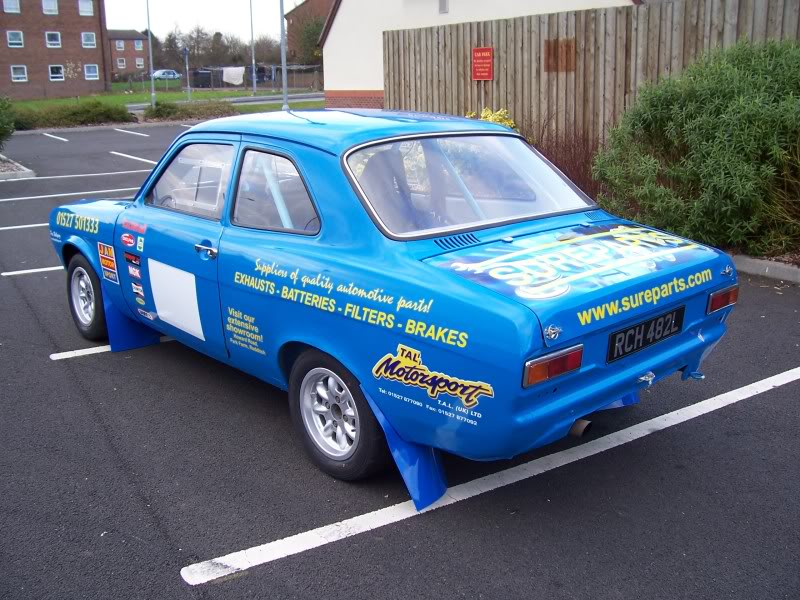 My Escort MK1 Rally Car
