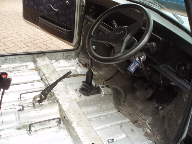 96 Mini with a Honda d16a VTEC engine
