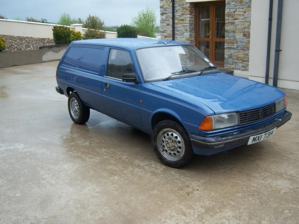 peugeot 305 van for sale.
