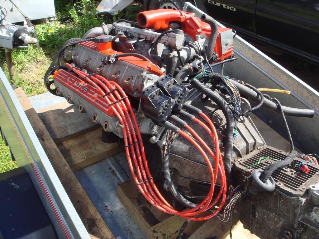 Lotus Esprit S4 Turbo Engine 300 Bhp Rwd Everything To