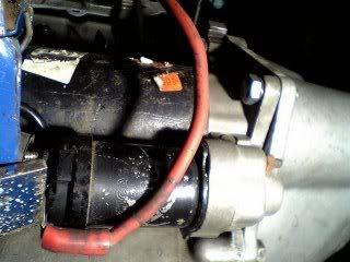 re: pinto starter motor
