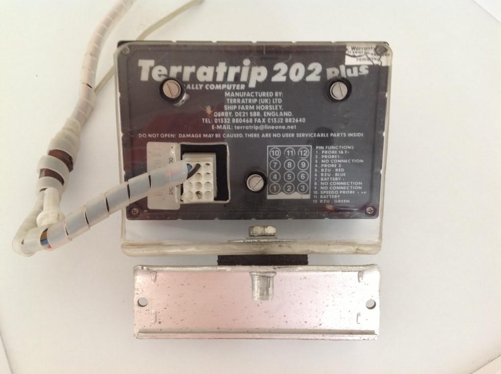 Terratrip 202 Plus Rally Tripmeter