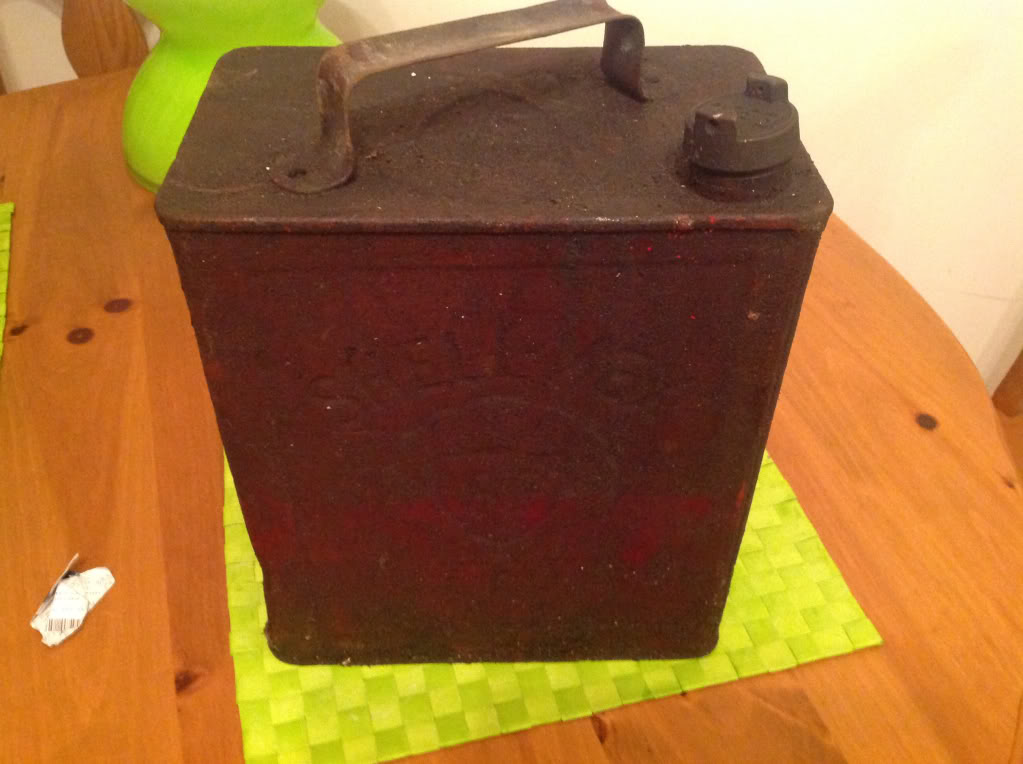 Vintage Petrol Oil Cans For Sale