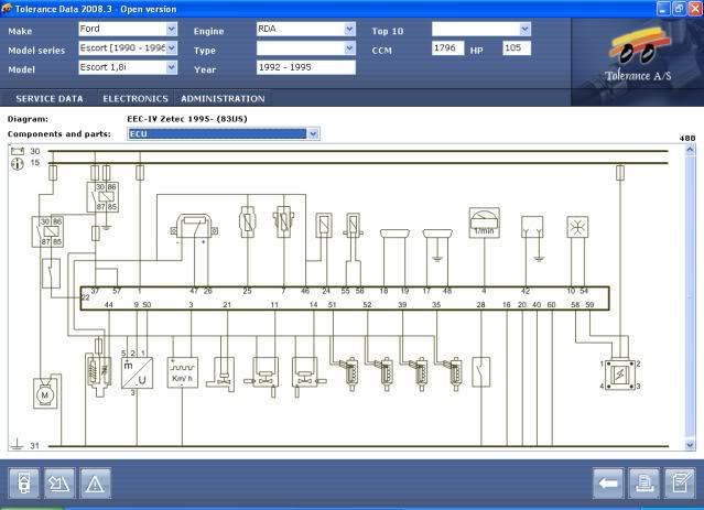 zetec conversion    wiring