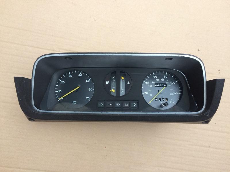 Escort Mk2 Clocks With Rev Counter 140mph    7000 Rpm