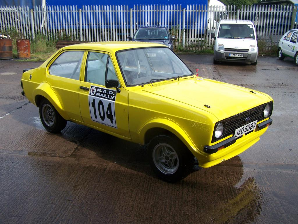 Mk2 Escort Rally Car Project 4dr
