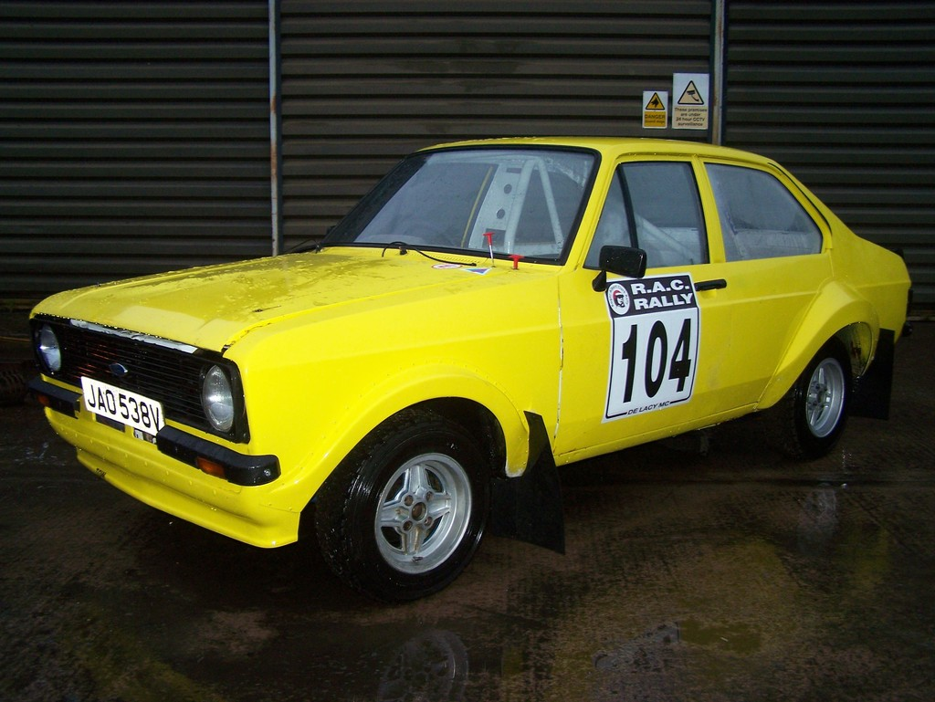 Mk2 Escort 4dr Rally Car