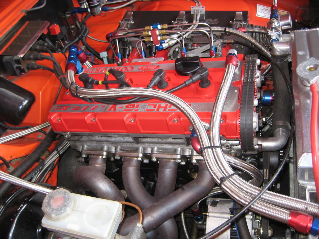 Cosworth on Ford Pinto Engine