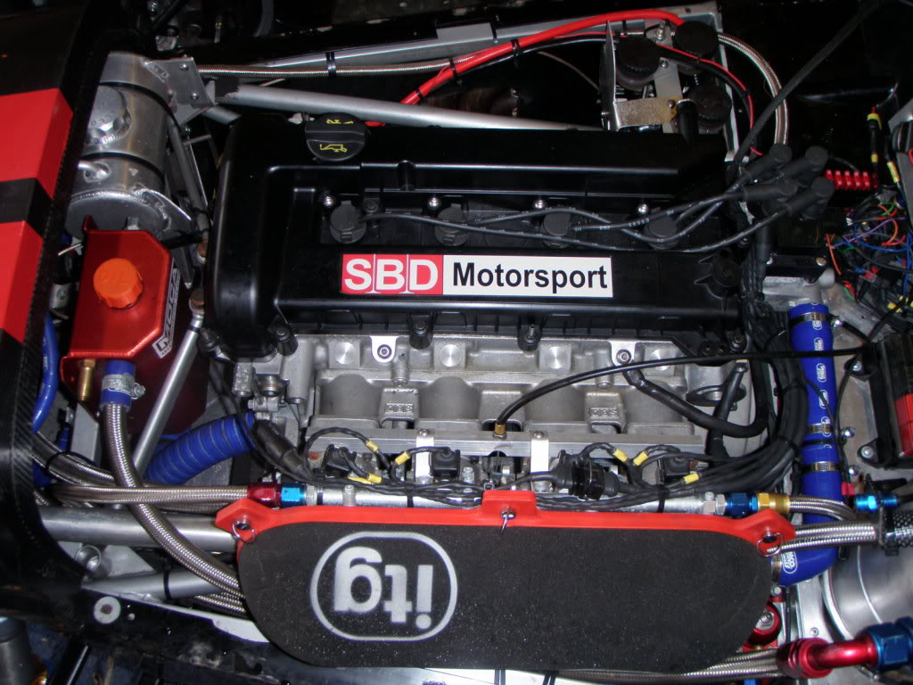 Westfield Duratec Race Car - All Steel Engine/Sequential