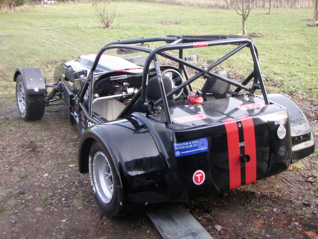 Westfield Duratec Race Car - All Steel Engine/Sequential \'Box (SOLD)