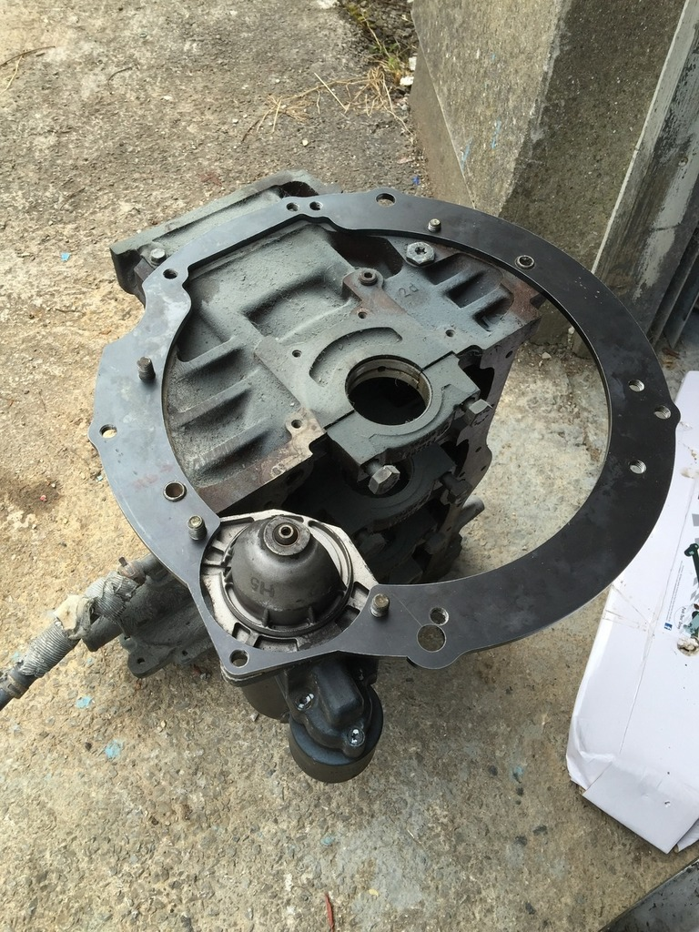 Rx8 5/6 speed gearbox conversion to ford engine (zetec,I4
