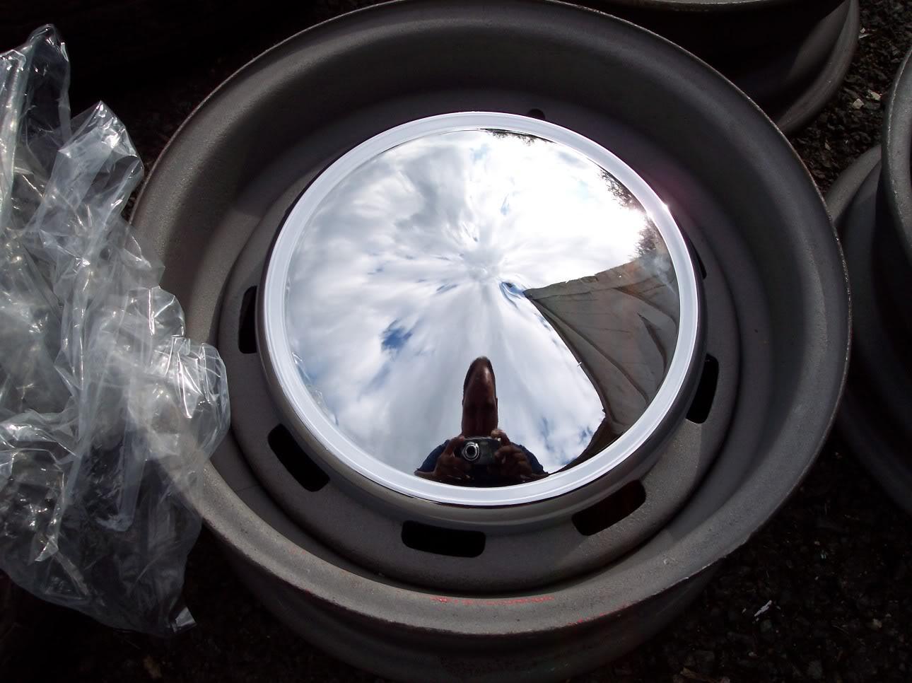 Mk1 Escort Mexico Slot Steel Wheels New Caps Rare