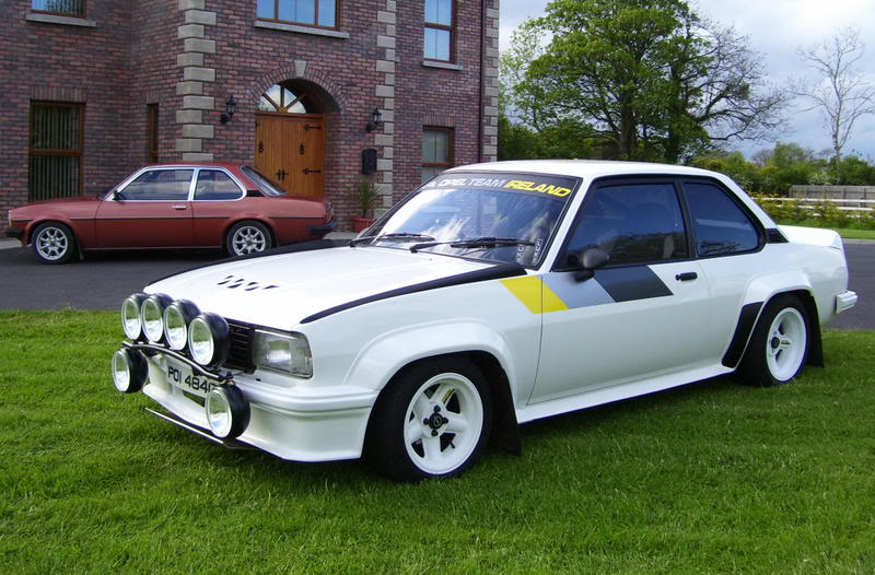 Ascona 400r 16v finally finished for Garage opel nice