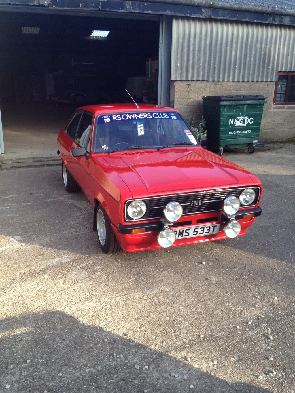 Mk2 Ford Ecort Mexico 1978 Venetian Red