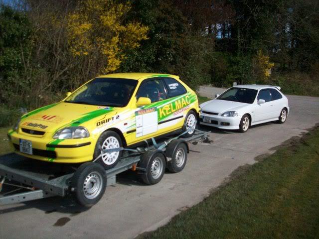 Honda Civic Ek4 Group N Rally Car