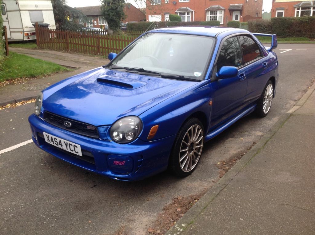 Subaru Impreza Wrx Sti Look 2001 Sold