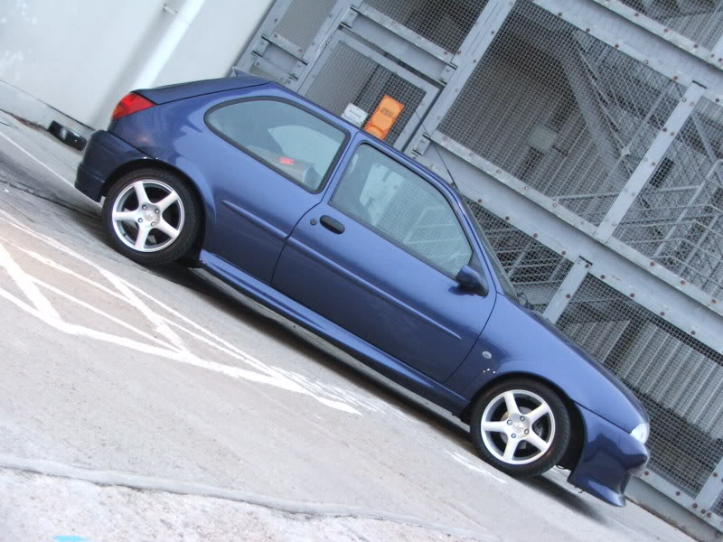 Modified Ford Fiesta Mk4