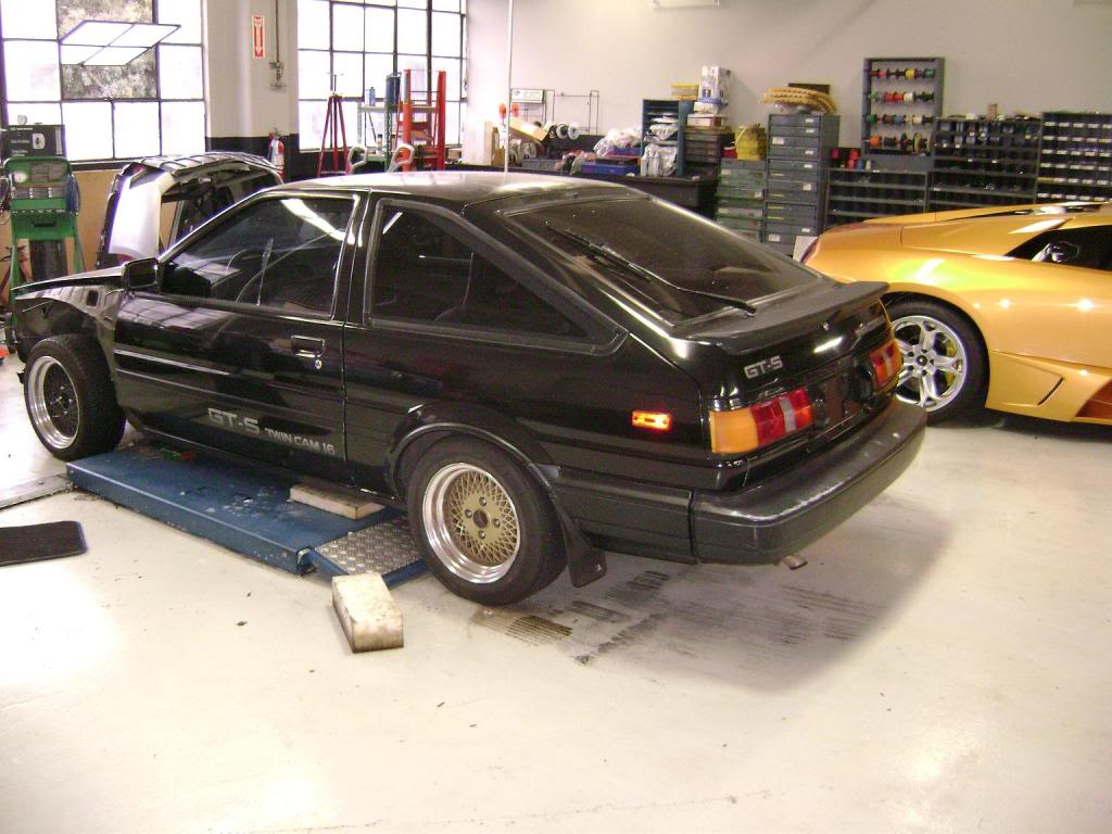 Ae86 Corolla Chassis Formula Engine Feels Like Its Taking 4age Wiring Diagram Image Search Results Forever