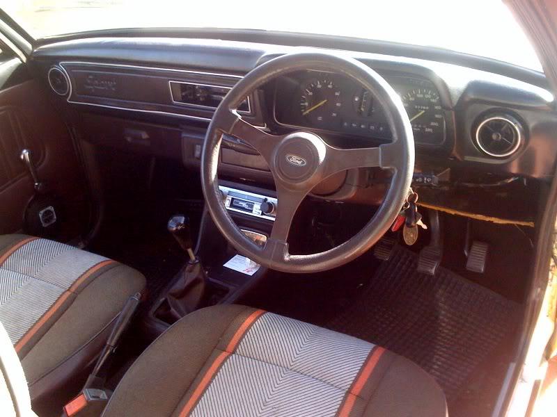 Steel Plate For Sale >> Mk2 Escort 1600 sport - dry RHD import (SOLD)