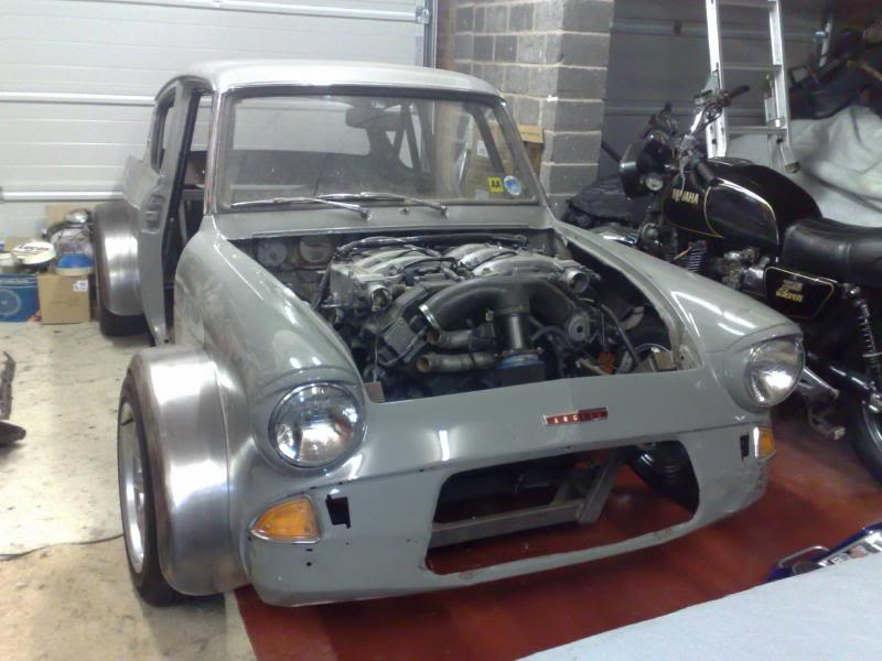 1965 Anglia Space Framed 3 0 V6 Zx Twin Turbo Project