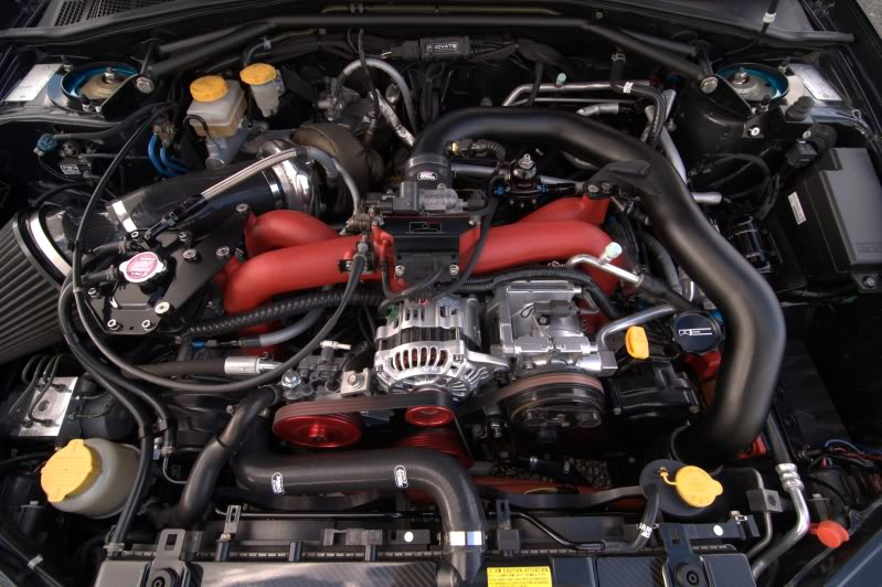 573bhp Prodrive Edition Subaru Impreza Sti