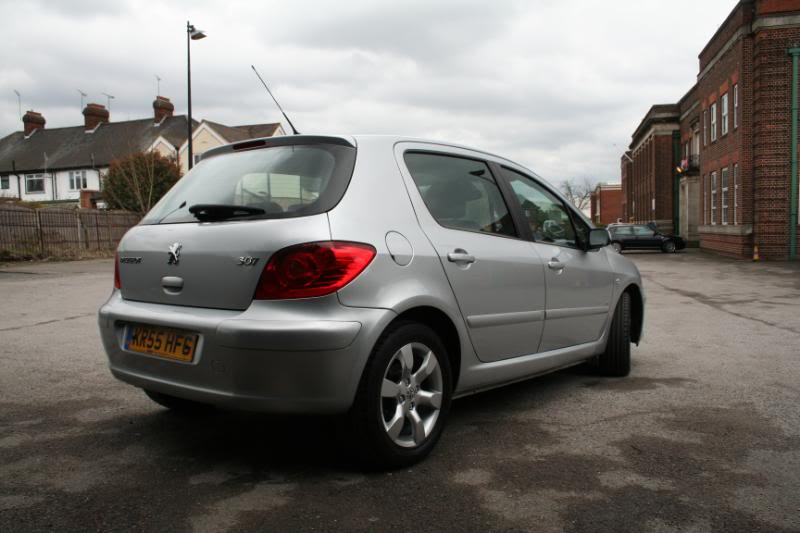 New Shape Peugeot 307 1 6 Se 55 Plate 5dr Hatch 163 3800