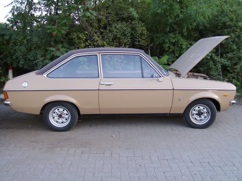 Ford Escort Mk2 1.3 Auto LHD 2 Door (Sold)