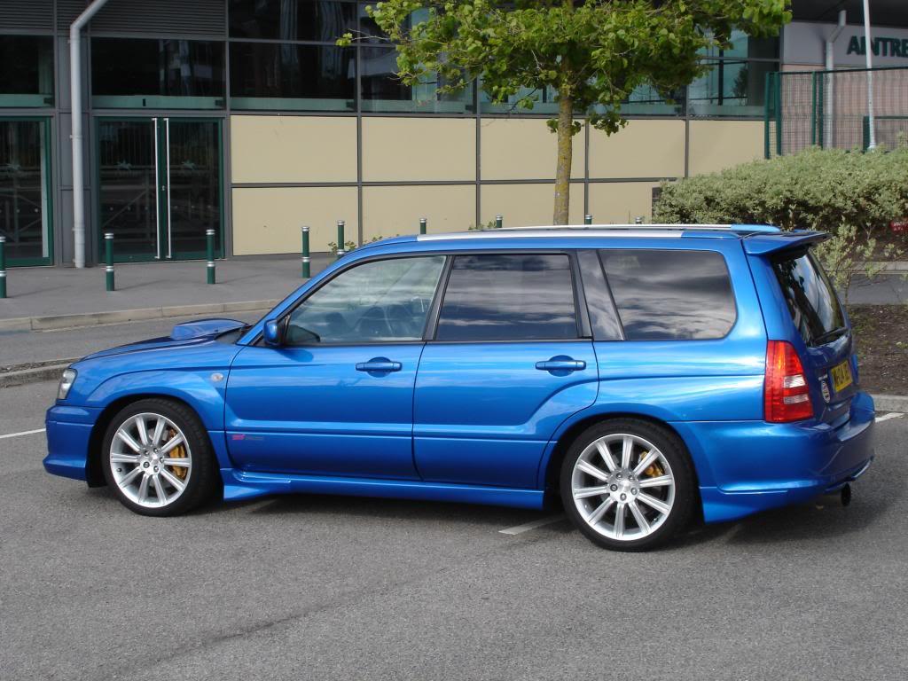 Subaru Forester 2.5 Turbo >> Subaru Forester STI 2.5 wr blue fsh (SOLD)