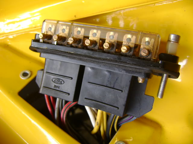 Help Wanted  Mk2 Escort Fusebox Wiring  Pic Inside