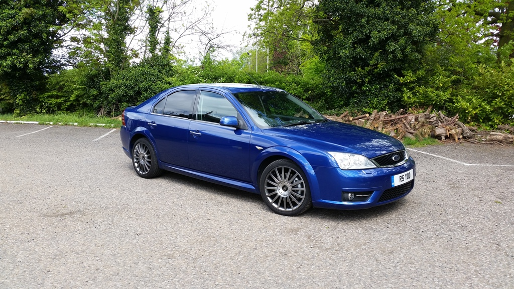2007 mondeo st tdci performance blue with focus st brakes sold
