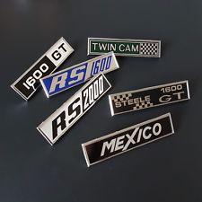 Escort Mk1 Twincam J Fray badges