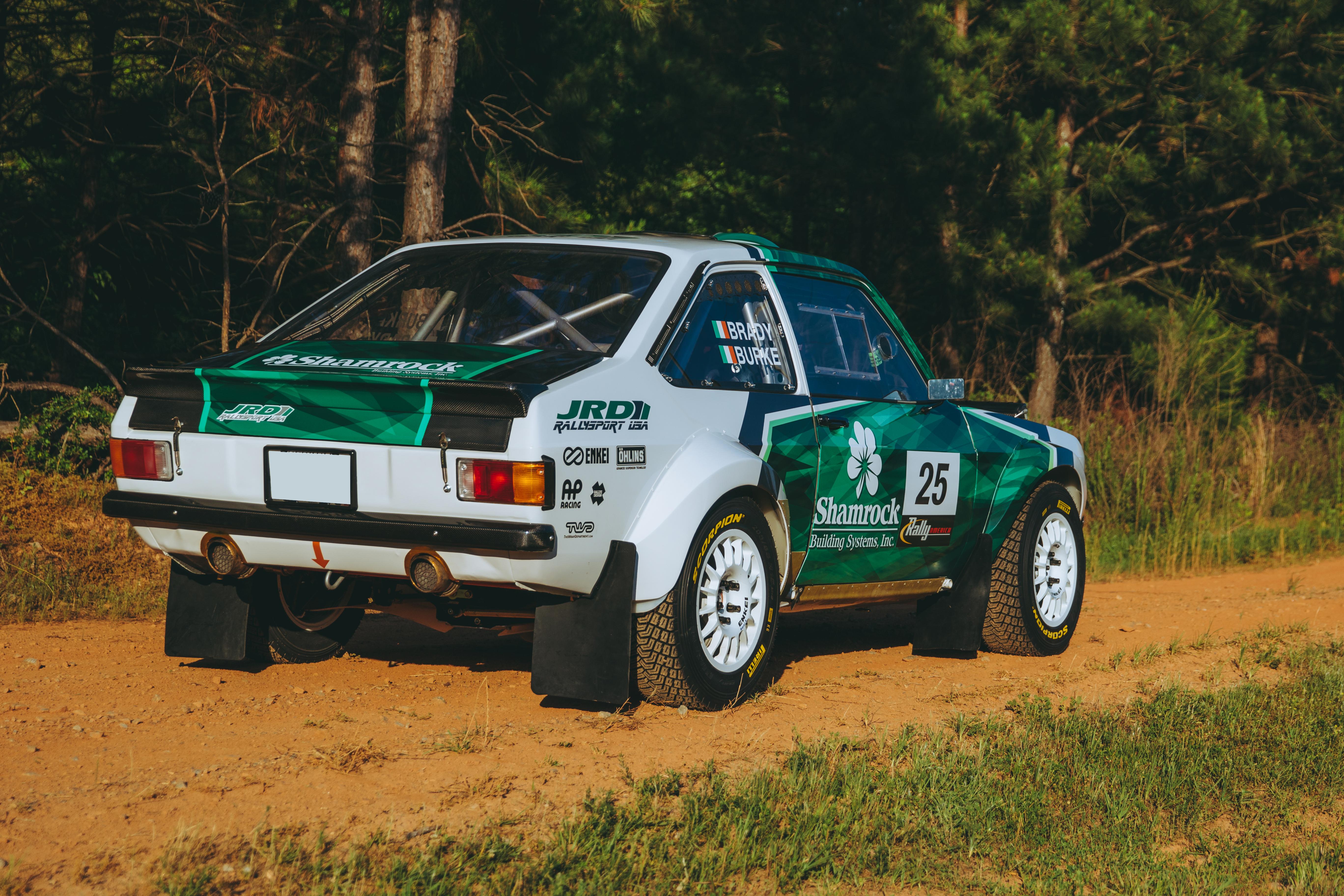The Wildest Escort Ever - Very Custom Mk2 Rally Car (Pic Heavy)