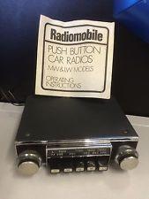Vintage Classic Car Radiomobile 1095x Car Radio Working Mk1 Ford