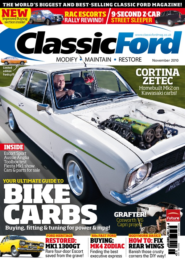 Classic Ford November Issue On Sale Today