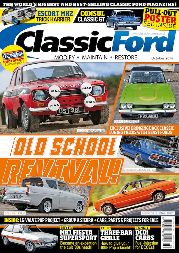 NEWS: Classic Ford celebrates the Old School Revival
