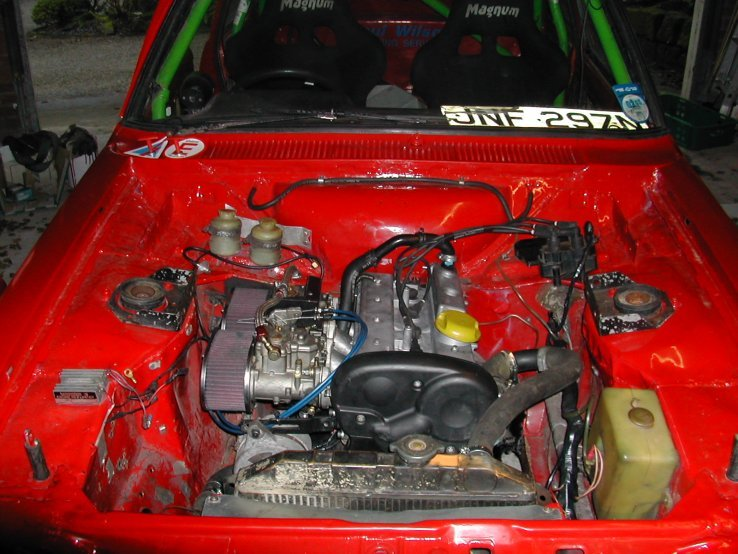 Best up to 1400cc engine for a Mk1/2 Escort rally car ?